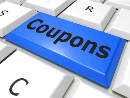 coupons button on keyboard