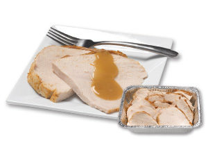 hand carved turkey breast platter an easy entertaining piece by stauffers